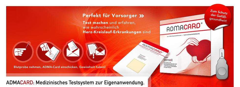 ADMA-Card bestellen: www.wellnest-shop.com